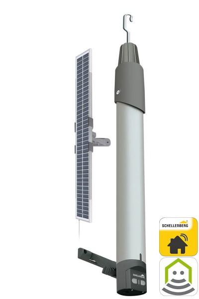 Napęd do markiz PREMIUM z panelem solarnym, Akumulatorem & i zasilaczem