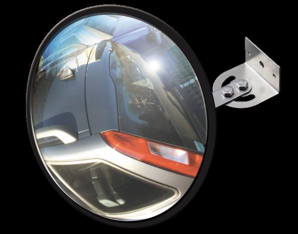 Lustro wyjazdowe - ze szkla akrylowego - Przekrój 30 cm