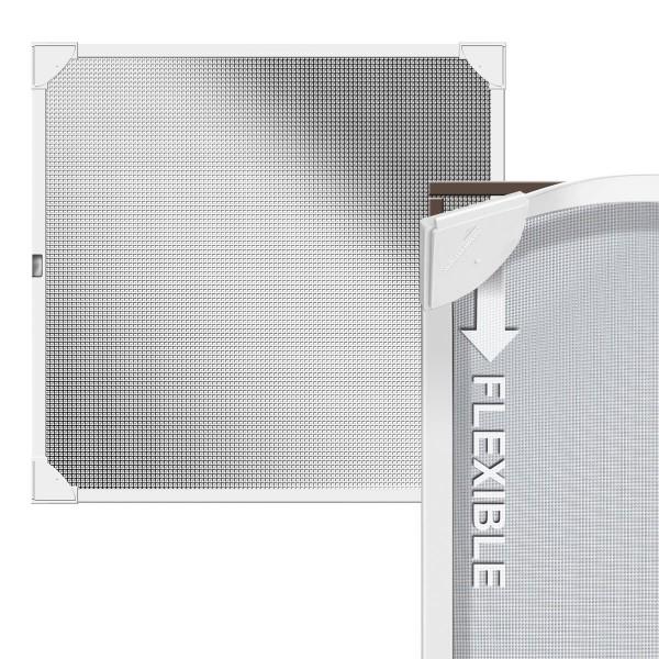 Siatka na ramie magnetycznej do okna 100x120cm REFLECTION