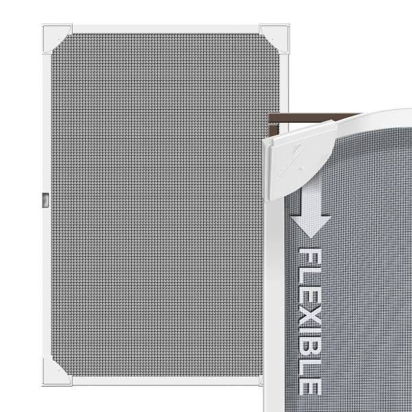 Moskitiera na ramie magnetycznej 80x140cm