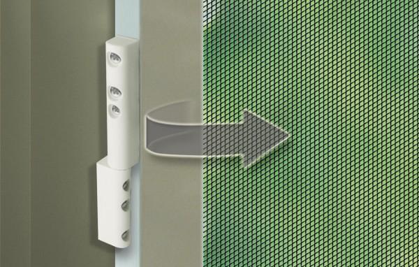 Zawiasy sprezynowe do okien i drzwi